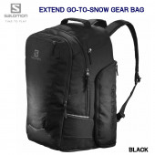 サロモン 2019 2020 SALOMON BAG EXTEND GO-TO-SNOW GEARBAG LC1206400 BLACK 50L ブーツバック バックパック