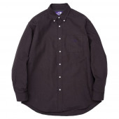 THE NORTH FACE PURPLE LABEL(ザノースフェイスパープルレーベル) Cotton Polyester OX B.D. Shirt