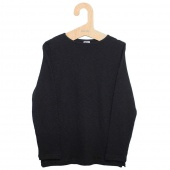 Tieasy AUTHENTIC CLASSIC (ティージー) - Tieasy Original Boatneck Shirt (ボートネック・バスクシャツ) (Black)