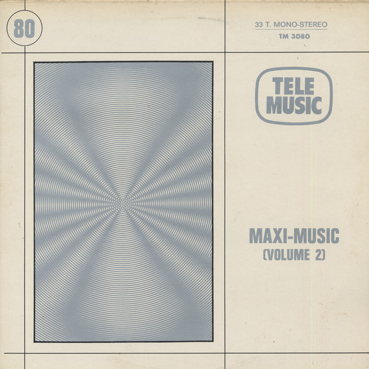 V.A. [Bernard Estardy etc] - Maxi-Music Volume 2 [TM 3080] (Used LP)