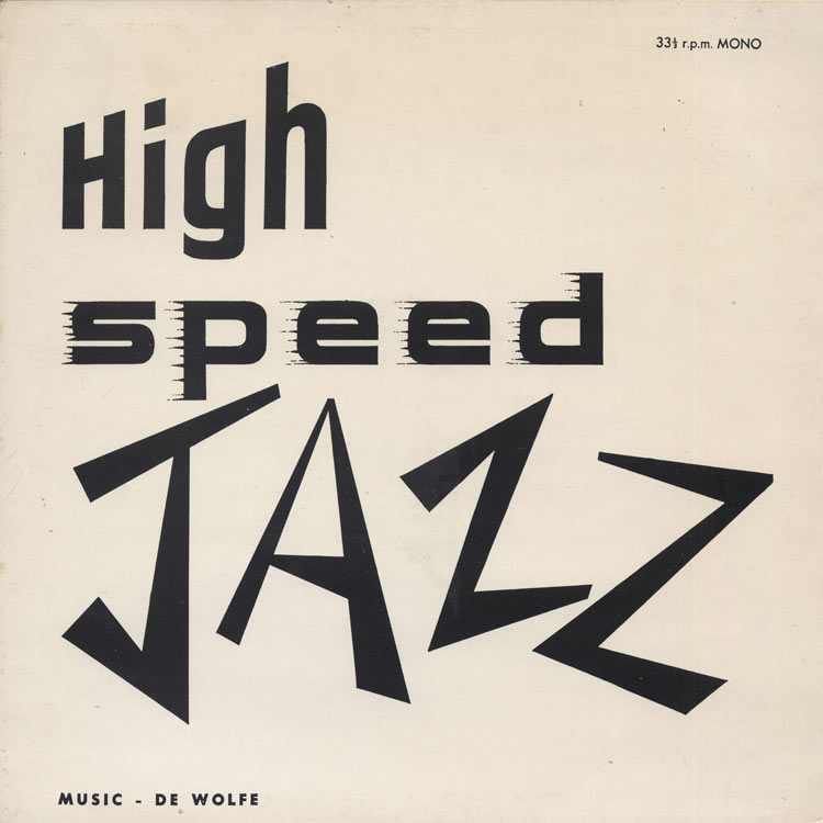 International Jazz Group, The [Henri Renaud and Robert Hermel / Serge Gainsbourg and Robert Viger] - High Speed Jazz (Used LP)