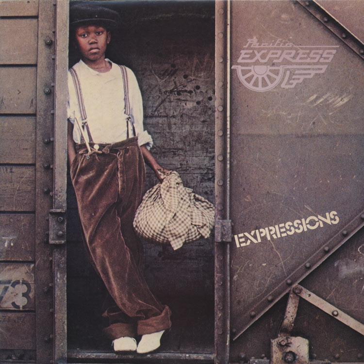 Pacific Express (パシフィック・エクスプレス) - Expressions (Used LP)