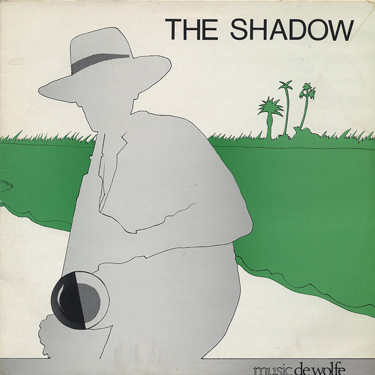 O Ji Ji [Rupert Harvey] - The Shadow [DWS/LP 3468] (Used LP)