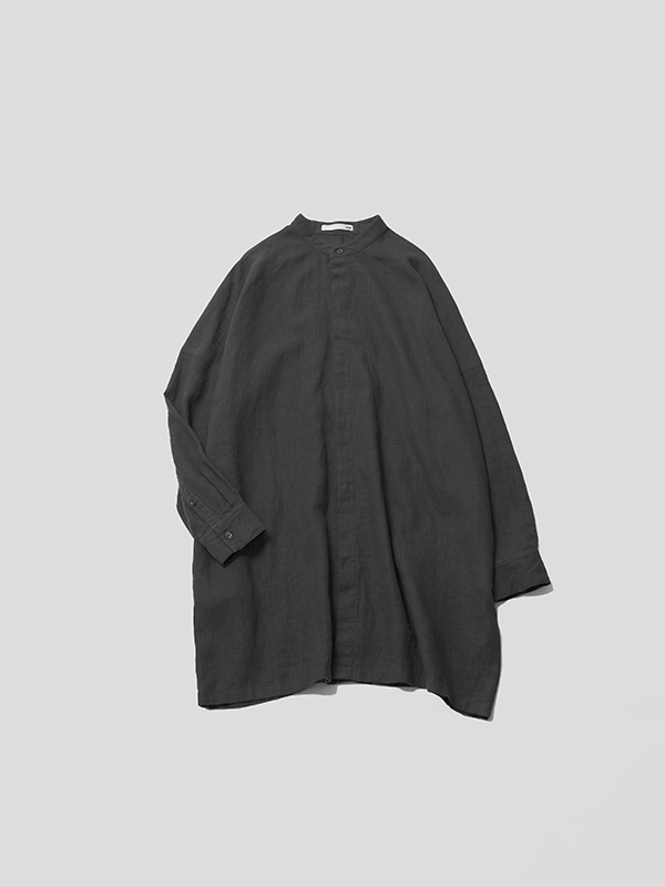 water linen tunic [men's]