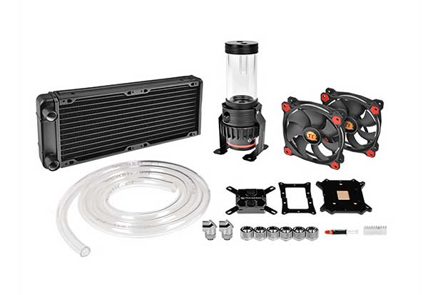 Thermaltake Pacific Gaming R240 D5 Water Cooling Kit カスタム水冷Pacificシリーズ オールインワンキット|CL-W196-CU00RE-A