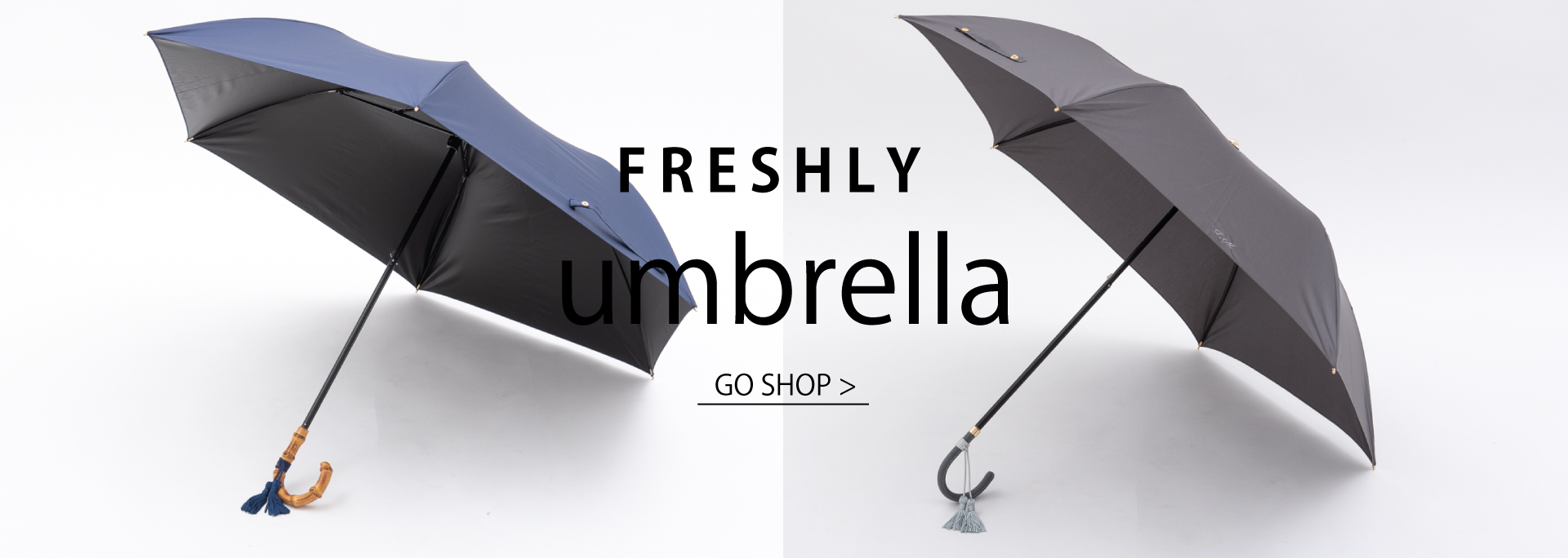 FRESHLY umbrella オリジナル晴雨兼用傘