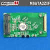 "Project_M mSATA SSD to 1.8"" ZIF変換基板"