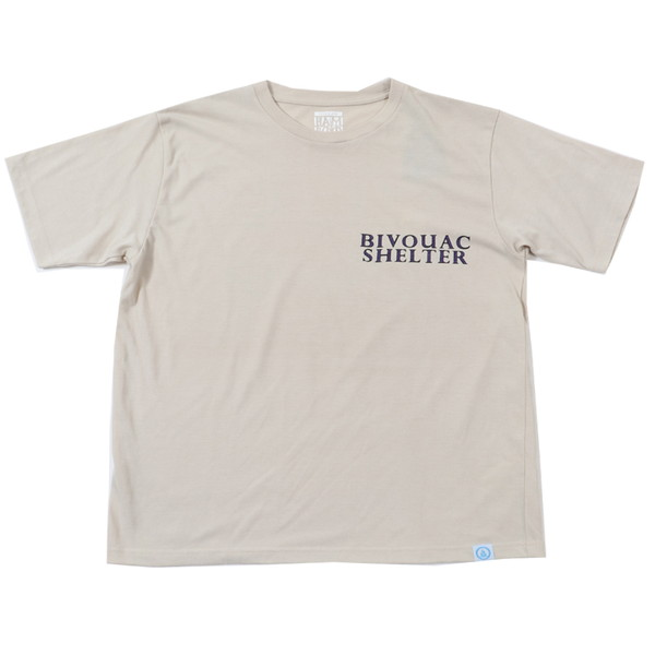 BAMBOO SHOOTS バンブーシュート Bivouac Shelter Tee Sand
